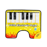 Touch Play Keyboard Music Singing Toilet Carpet Mat Adult Children Fun Casual Decompression Toy Piano blanket