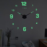 27/37/47 pulgadas DIY Wall Reloj Silent Quartz Luminous Wall Night Relojs