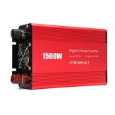 Inversor de carro portátil 1500W DC 12V para AC 110V Modified Sine Wave Converter