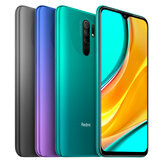Xiaomi Redmi 9 Global Version NFC 6.53 inch رباعي Rear الة تصوير 3GB رام 32GB روم 5020mAh Helio G80 ثماني core 4G Smartphone