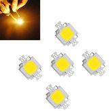 5pcs10W900LMQuente Branco Alto Brilhante LED Lâmpada de Luz Chip CD9-12 V