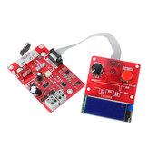 NY-D03 100A / 40A لحام البقعة وقت والتحكم الحالي ثنائي التحكم في النبض لوحة LCD عرض