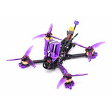 Eachine LAL 5style 220mm 6S Freestyle 5 pouces FPV Racing Drone PNP / BNF F4 Bluetooth FC Caddx Ratel 2307 1850KV Moteur 50A Blheli_32 ESC