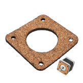 Machifit 2/3mm Cork Wood Shock Absorber Anti-vibration Motor Damper for Nema 17 42mm Stepper Motor