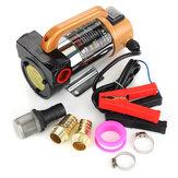 12V 300W Portable Diesel Fuel Oil Transfer Pump Self Priming Oil Pump 50L/Min