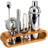 1/10/12PCS 750ml Stainless Steel Cocktail Shaker Mixer Drink Set Bartender Bar Tool