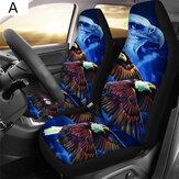 1 / 2шт передняя Авто крышка сиденья протектор транспортного средства внедорожник подушки интерьера универсальные