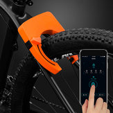 BIKIGHT 806 Zinc Alloy bluetooth Smart Control Horseshoe Clamp Anti-theft Removal-proof Bike Lock