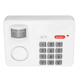 Wireless PIR Sensor Alarm Burglar Alarm Security System Door Window Garage Tool