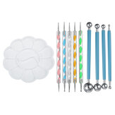 10pcs Mandala Dotting Tools Set Rock Peinture Kit Nail Art Pen Paint Stencil