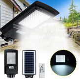 100W LED Solar Street Light Radar Motion Sensor Power Panel Wall Lamp Outdoor Garden IP65 Decor with Remote Control