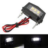 12V Motorcycle LED License Plate Light For Honda/Kawasaki/Yamaha/Suzuki