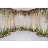 Flowers Wall Scene Wedding Photography Background Studio Props Backdrops 1.5x2.1m/2.1x2.1m/2.7x2.7/0.9x1.5m