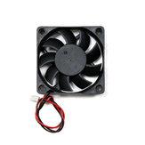 8pcs 12v 6015 Ventilateur de refroidissement avec câble pour pièce d'imprimante 3D, 60 * 60 * 60 * 15mm