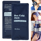 200ml Soft Reusable Hot Cold Therapy Gel Pad Ice Cooling Heating Pads Pain Relief Sport Compress