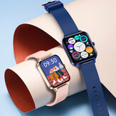 Original              Bakeey MX7 1.69 inch IPS Full Touch Screen bluetooth Call Body Temperature Heart Rate Blood Pressure SpO2 Monitor Music Playback 100+ Watch Face Split-screen Smart Watch