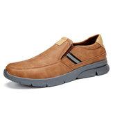 Menico Men Wygodne wsuwane buty biznesowe z mikrofibry