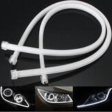 2szt 60cm SMD3014 Elastyczna taśma LED do jazdy dziennej DRL do jazdy dziennej do motocykla skutera samochodowego