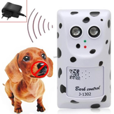 Loskii Dog Repeller Neuer Hund Anti Bark Ultraschall Humanely Anti Kein Bellen Gerät Stop Control Hund Bellen Schalldämpfer Pet Trainer