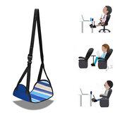 Travesseiro Apoio para os pés Avião Pé Rede de descanso Viagem Aptidão Home Office Relaxante Ajustável Portátil Pés Descanso