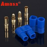 1 paar Amass EC3 Plug Connector met 3.5mm Banana Plug