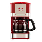家庭用オフィスアメリカンスタイルドリップ6カップティーコーヒー製造機コーヒーマシン550 w