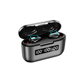 Bakeey G40 TWS bluetooth 5.1 Earphones Mini Touch Control 9D Hifi Stereo Sports Dual-mic Earbuds With 3500Mah Charging Box