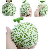 Hami Melon Squishy Slow Rising 10 * 10 * 10CM Retail Packaging Telefoonbanden Charms Fruit Squishy Geurig Speelgoed