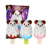 Sanqi Elan Bear Popsicle Ice-lolly Squishy 12*5.5CM Licensed Slow Rising Soft Toy With Packaging