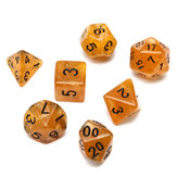 7 Piece Polyhedral Dice Set Dados Multisided Com Dados Bolsa RPG Role Playing Games Dices Gadget