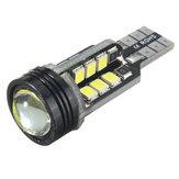T15 W16W 921 2835 SMD LED Car Backup Reverse Lights Wedge Bulb 4W 480LM 6000K White
