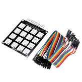 5pcs 16 Keys Capacitive Touch Key Pad Module RobotDyn for Arduino - products that work with official for Arduino boards