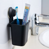 Multi-function Suction Cup Toothbrush Rack Sucker Wall Mounted Bathroom Toothpaste Toothbrush Holder Free Punching