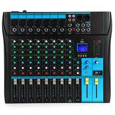 Bakeey YT-80 микшерный пульт 8-канальный профессиональный Bluetooth аудио микшерный пульт Studio USB DJ микширование звука