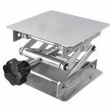 Plataforma Elevatória de Laboratório Controle Manual Suporte 100X100X150mm