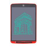 Aituxie 12inch LCD Schreibblock Groß LCD Handschrifttafel Rot Schwarz Blau Zeichenbrett mit Stift für Kinder Wohnkultur