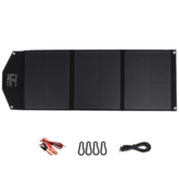 iMars SP-B100 100W Foldable Solar Panel Folding Portable Superior Monocrystalline Solar Power Cell Battery Charger for Car Camping Phone
