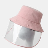 Adjustable Sun Hat With Large Eaves Anti-fog Removable Hat