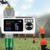 YUGE Nuevo LCD Pantalla Controlador electrónico de rociadores automáticos Rain Sensor Impermeable Temporizador de riego al aire libre Dispositivo de riego de jardín Riego herramienta