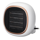 Mini Wall Mounted Portable Electric Space Heater Fan 2 Gear Desktop Warm Air Blower PTC Ceramic Heating for Home Office