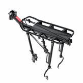MTB Universal Bike Bagażnik tylny ze stopu aluminium Bagażnik na rowery ze stopu aluminium Maksymalne obciążenie 90 kg
