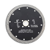 6 Inch Super Thin Diamond Saw Blades Cutting Discs for Ceramic Porcelain Marble Cutting