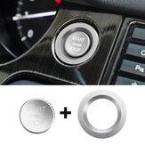 Coche Botón de inicio Cochebon Motor Moldura interior de la cubierta del interruptor para Land Rover Discovery Sport 2015-2018