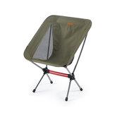 Naturehike YL08 Camping chaise pliante 600D résistant à l'usure antidérapant plage chaise de pêche ultra-léger Portable loisirs voyage charge maximale 120 kg