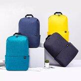 Oryginalna kolorowa plecak Xiaomi 20L Kobiety Mężczyźni Storage Water Repellent Home Person Backbag