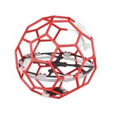 LDARC Flyball 230 Spare Part 122mm Wheelbase Empty Frame Kit Out Diameter 230mm for Soccer FPV Racing Drone