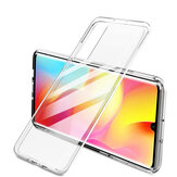Bakeey for Xiaomi Mi Note 10 Lite Case Crystal Transparent Shockproof Hard PC Non-yellow Protective Case Non-original