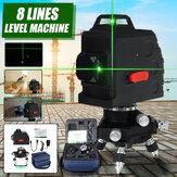 8-строчный зеленый свет Лазер Машина Лазер Горизонтальный и вертикальный уровень
