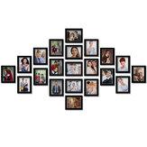 21Pcs Creative Carton 7 pouces Photo Wall DIY Combinaison Photo Frame