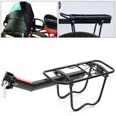 BIKIGHT Bike Rear Rack Aluminum Alloy Luggage Rear Carrier Trunk MTB Bike Rear Shelf Max Load 10kg Outdoor Cycling
